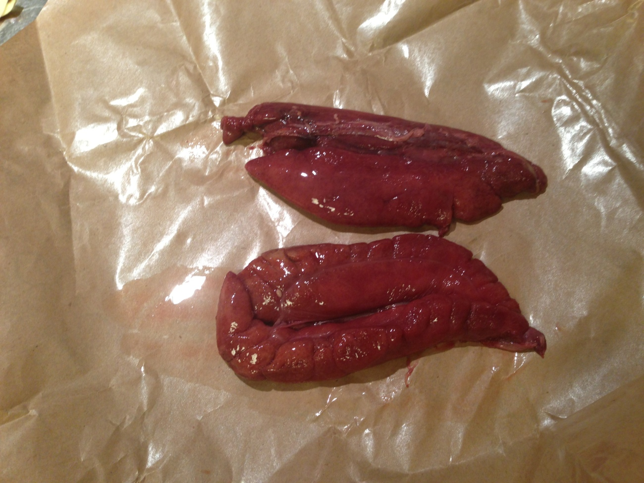Shad Roe - A delicacy of spring.