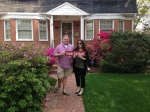 I helped Adam and Whitney sell their N. Arlington townhome and move into this great single family home.