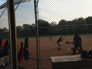 In Bluemont Park you can always see a ball game, or watch a tennis match.