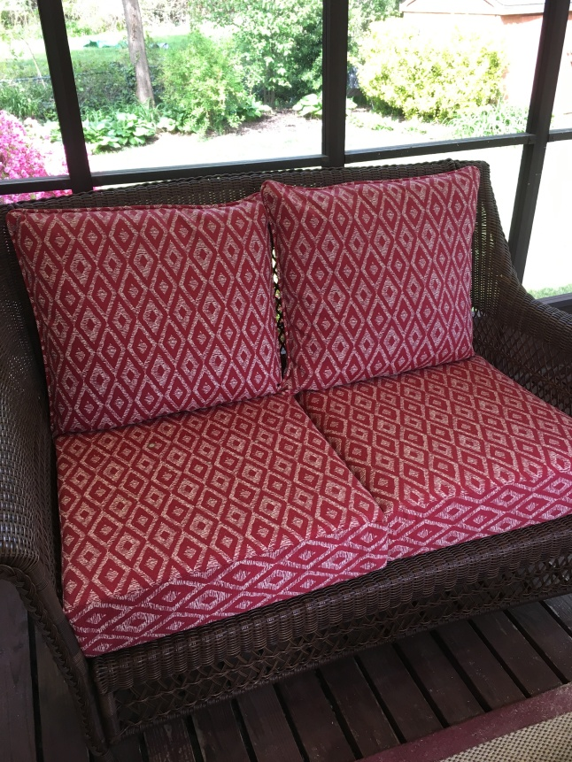 Awesome Deal On Patio Furniture Cushions In Alexandria Va