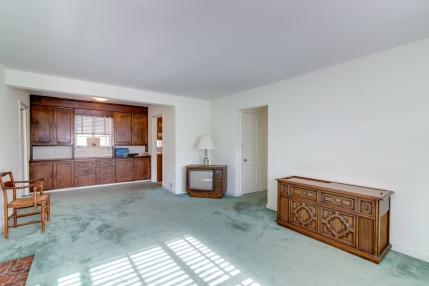 Wood under carpeting