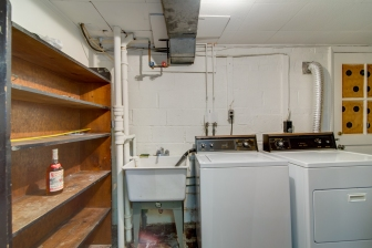 Washer Dryer in Lower Level